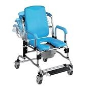 Shower/Commode Chairs with Wheels