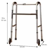 Aluminum Folding Walker