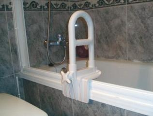 grab bar bathtub