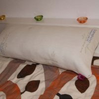 bamboo fibre bed pillow