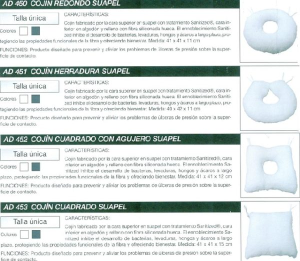 square pressure ulcer cushion 3