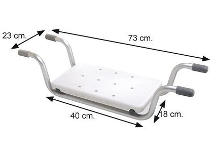 Bathtub seat for aluminum ortohispania en bathtub seat for Asiento para banera