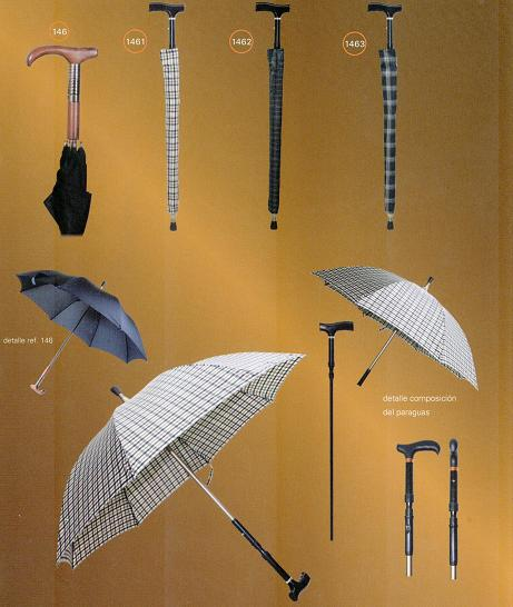 Umbrella Canes, 2 in 1, Can be  2