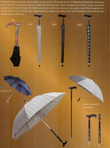 Muletilla con Paraguas