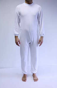 Pijama Largo con Cremallera en Piernas
