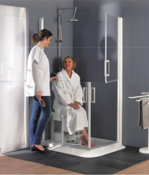 Baño En Ducha De Un Paciente: de goma dentro y fuera de la ducha o bañera para evitar resbalar