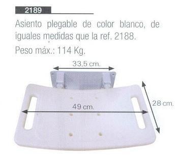 Asiento Plegable de Pared