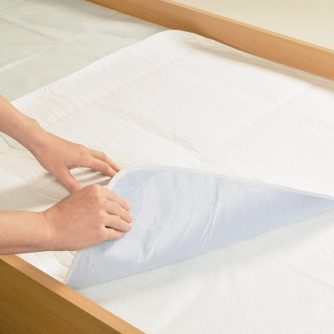 Washable Bed Pad Bed Protection with or without wings.