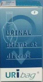 portable male urinal