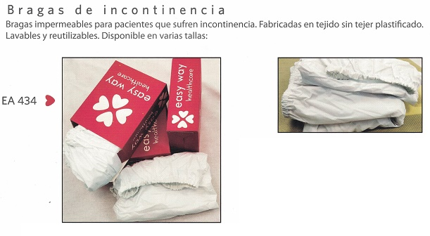 Incontinence Pants. Reusable Absorbent Underware
