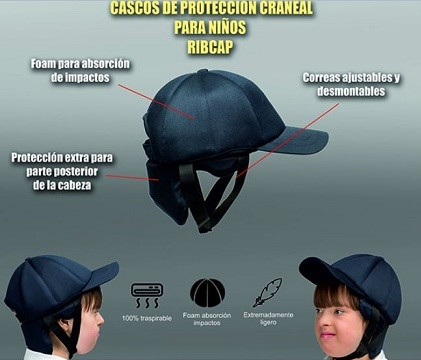 Protective Baseball Cap For Children