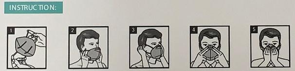 Mascarilla De Protección KN95-FFP2